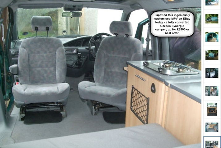 Ford Galaxy Camper Conversion >> customise | MPVcar.co.uk